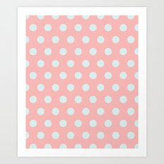 Dots collection III Art Print