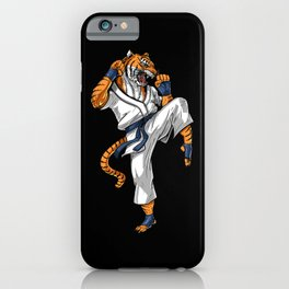 Tiger Karate iPhone Case