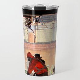 Clean-up On Aisle Two Travel Mug