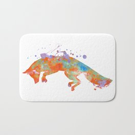 The Fox Jump Bath Mat