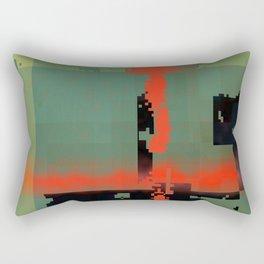 my own stream of code... Rectangular Pillow