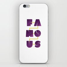 Famous iPhone & iPod Skin