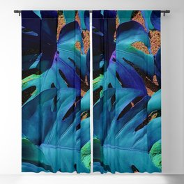 filadendron blue Blackout Curtain