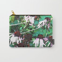 Watercolor Echinacea Carry-All Pouch
