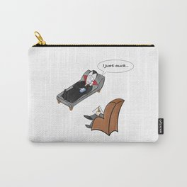 Count Dracula's existential crisis Carry-All Pouch