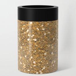 Gold Glitter Can Cooler