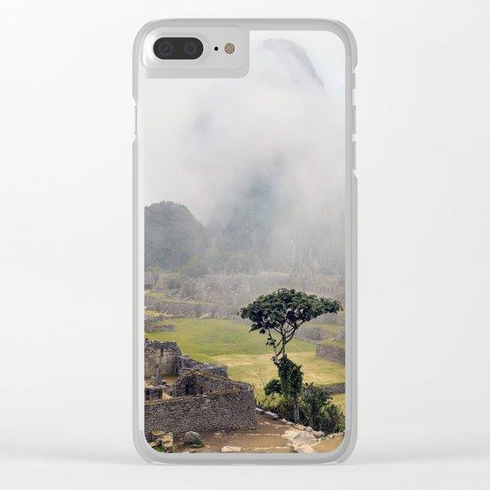Machu Picchu ruins - Peru Clear iPhone Case