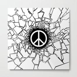 Peacebreaker II Metal Print