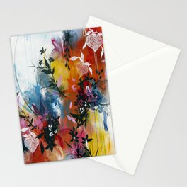 Calyces Fruits Abstract Stationery Cards