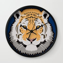 The Wild Ones: Siberian Tiger Wall Clock