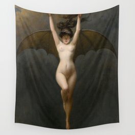 The Bat Woman Albert Joseph Pénot Wall Tapestry