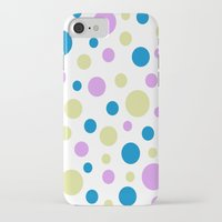 polka dot iPhone & iPod Cases featuring Polka Dot by Little Ladybird