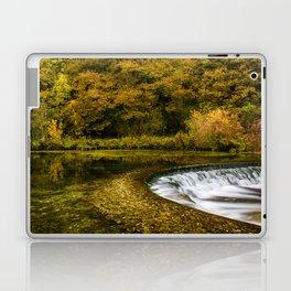Autumn on the River Lathkill Laptop & iPad Skin
