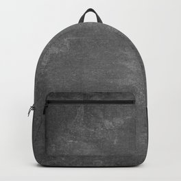 Gray and White School Chalk Board Backpack