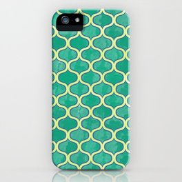 Watercolor Lovely Pattern VVV iPhone Case