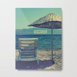discover Metal Print