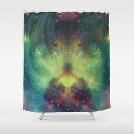 cosmic meditation  Shower Curtain