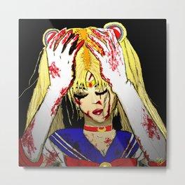 Bloody Sailor Moon Metal Print