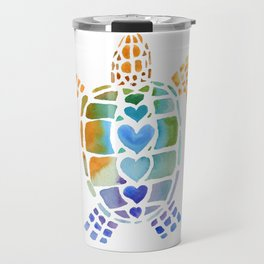 Hug a Sea Turtle Travel Mug
