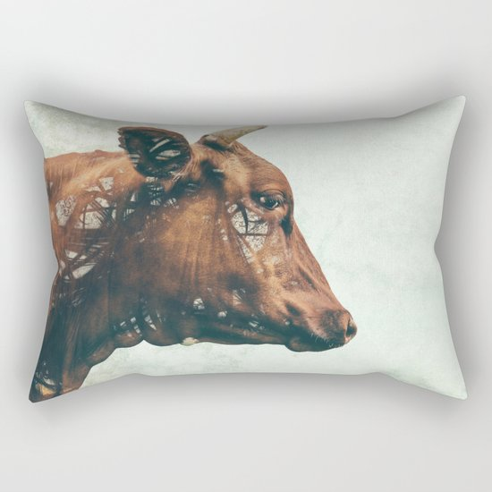 Portrait of Bess Rectangular Pillow