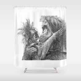 Orang Utan Shower Curtain