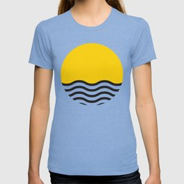 Waves of Yellow T-shirt