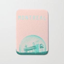 MONTREAL BIOSPHERE PINK Bath Mat