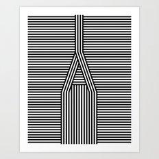 A Line Art Print