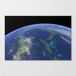Earth Close 01 Canvas Print