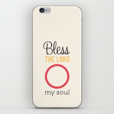 O My Soul iPhone & iPod Skin