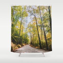 Forest Road - Muir Valley, Kentucky Shower Curtain