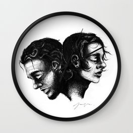 The Head and the Heart Wall Clock