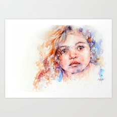 Magical  . . Child Portrait Art Print