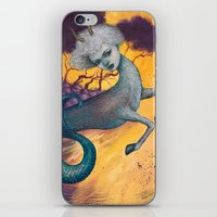 capricorn iPhone & iPod Skins featuring Capricorn by Artist Andrea