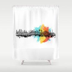 Long City Shower Curtain