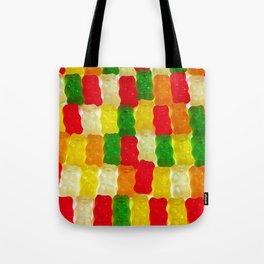 Colorful gummi bears Tote Bag