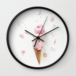 Triple Scoop Wall Clock