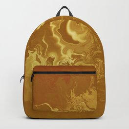 Dragon fire abstract Backpack