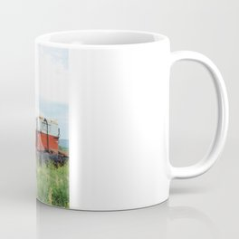 Field Below Coffee Mug