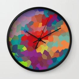 Vibrant Colors Wall Clock