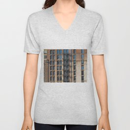windows and stairs Unisex V-Neck