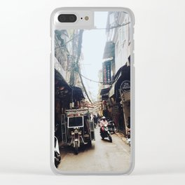 HANOI, VIETNAM OLD QUARTER ALLEY Clear iPhone Case