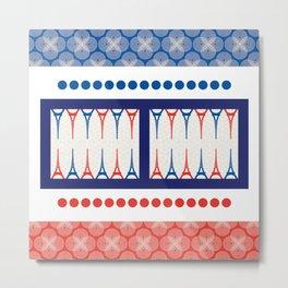 Backgammon – it's a GAME Metal Print