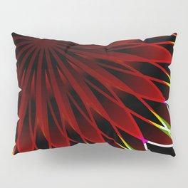 Neon flower mandala Pillow Sham