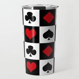 Playing card Travel Mug