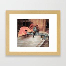 Queen Artichoke and Ser Meatloaf Framed Art Print