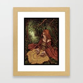 Offering Framed Art Print