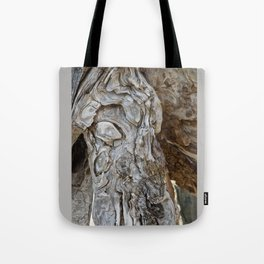 wood skin Tote Bag