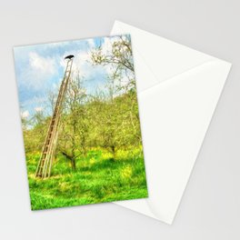 The Lone Crow Stationery Cards
