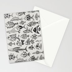 Inked Fish Stationery Cards